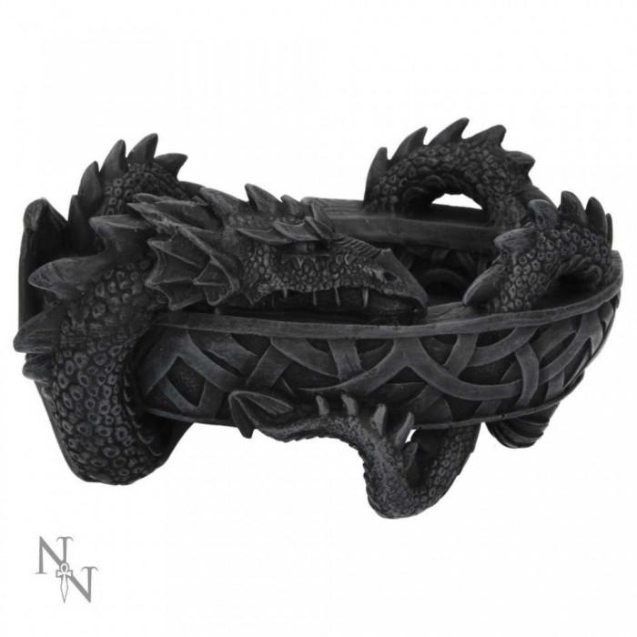 Scrumiera Incolacirea dragonului foto mare