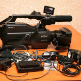 Camera sony hvr hd1000e (MiniDV HDV) + accesorii - Camera Video