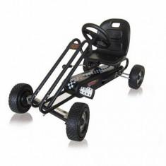 Go Kart Lightning Titan Black - Kart cu pedale Hauck