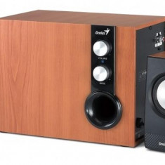 Boxe Genius 2.1 SW-HF2.1 1205 Cherry(wood), 30W RMS