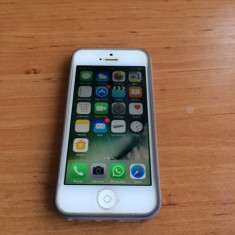 iPhone 5S Apple Stare Impecabila, Argintiu, 16GB, Orange