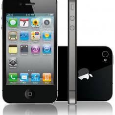 iPhone 4 Apple 16gb Black liber de retea + Garantie 6 luni, Negru, Neblocat