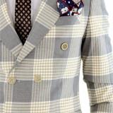 Costum tip ZARA - sacou + pantaloni - costum barbati 8395, Marime: 44, 46, 48, 50, 52, 54, Culoare: Din imagine