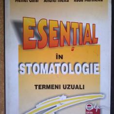 M. Gafar, s.a. - Esential in stomatologie termeni uzuali