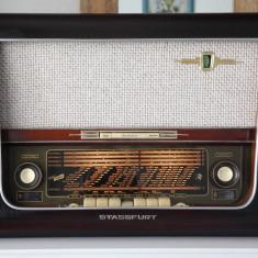 Radio lampi Stassfurt Super 600, complet restaurat - Aparat radio