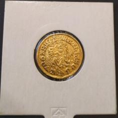 Ducat - Matei Corvin - aur - stare exceptionala - Moneda Medievala, Europa