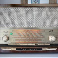 Radio lampi Graetz Sinfonia 522, complet restaurat - Aparat radio