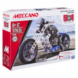 Meccano - Set Constructie 5 in 1 Motocicleta 174 Piese