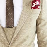 Costum - sacou + pantaloni + vesta - costum barbati 8398, Marime: 52, 54, Culoare: Din imagine