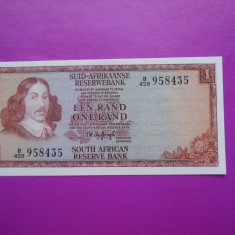HOPCT AFRICA DE SUD 1 RAND 1967 UNC /VARIANTA AFRIKANS -ENGLEZA-RSA- [2 ] - bancnota africa