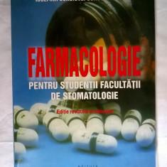 Iosefina Corciovei Constantinescu - Farmacologie pentru studentii facultatii de stomatologie