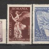 Romania.1947 Pacea XR.128 - Timbre Romania, Nestampilat