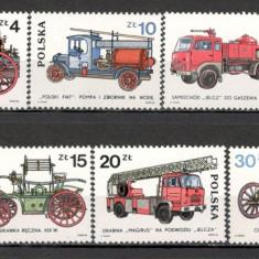 Polonia.1985 Masini de pompieri  SP.317