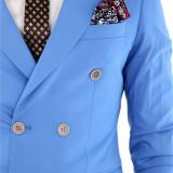 Costum - sacou + pantaloni - costum barbati 8396, Marime: 46, 50, 54, 56, Culoare: Din imagine