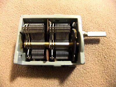 Condensator variabil nou in cutia originala foto