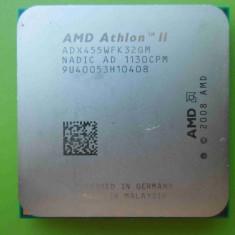 Procesor AMD Athlon II x3 455 Triple Core 3.3GHz socket AM2+ AM3 - Procesor PC AMD, Numar nuclee: 3, Peste 3.0 GHz