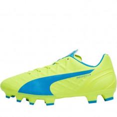 Ghete de fotbal copii Puma evoSPEED 4.4 FG ORIGINALI masura 38 - Ghete fotbal Adidas, Culoare: Din imagine, Teren sintetic: 1, Iarba: 1
