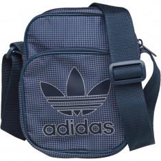 Geanta, borseta Adidas Originals Originala de umar, mica, pentru actele telefon - Geanta Barbati Adidas, Culoare: Din imagine, Geanta tip postas, Panza