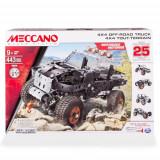 Meccano - Set Constructie 4x4 Off Road 25 in 1 ATV, 443 piese