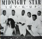 Midnight Star - Luv-U-Up 1990 disc vinil Maxi Single Pop Rap, Funk