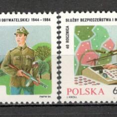 Polonia.1984 40 ani Militia  SP.311