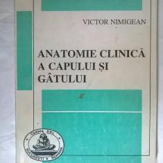 Victor Nimigean - Anatomie clinica a capului si gatului