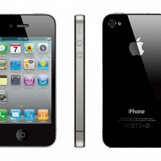 iPhone 4s Apple 16gb Black Neverlocked + Garantie 6 luni, Negru, 8GB, Neblocat