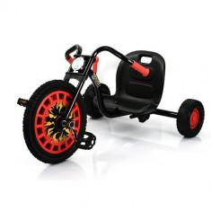 Go Kart Typhoon Black Red - Kart cu pedale Hauck