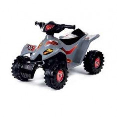 ATV quad electric copii, 6V - gri - Masinuta electrica copii
