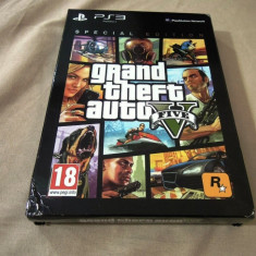 GTA V, Grand Theft Auto 5 Special Edition, PS3, original! Alte sute de jocuri! - GTA 5 PS3 Rockstar Games