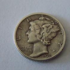 Moneda argint one dime 1936, America de Nord