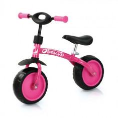Bicicleta Super Rider 10 Pink - Bicicleta copii Hauck