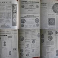 Catalog Licitatii Monede si Bancnote- Noiembrie 1997. Munzen&Papiergeld.Germania - Moneda Antica