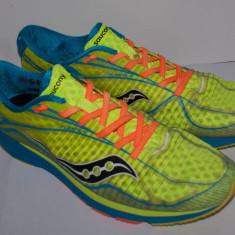 Adidasi SAUCONY Type A6 pentru alergare marimea 46, 5 galben neon - Adidasi barbati Saucony, Textil