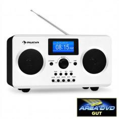 Auna cuarț 150 Internet Radio RDS AUX WiFi ceas deșteptator