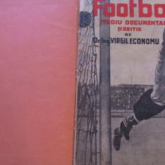 Carte fotbal(din 1935) de colectie