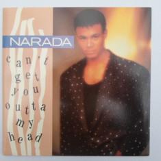 Narada - Can't Get You Outta My Head disc vinil Maxi Single r&b, Garage House