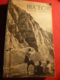 E.Cristea - Bucegii - Turism - Alpinism - Ed. UCFS 1961 ,344 pag.+2 harti pliate