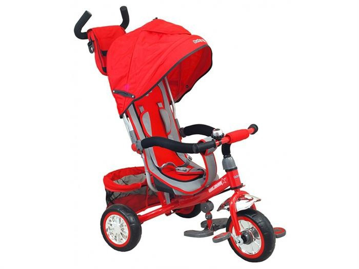 Tricicleta Copii Baby Mix 37-5 Red foto mare