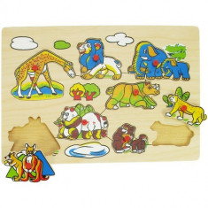 Puzzle Bigjigs - Animale din Salbaticie