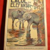 Mihai Tican Rumano - Lacul cu Elefanti -Prima Ed. 1930 Cartea Romaneasca - Carte de calatorie