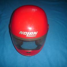 CASCA DE MOTOCICLIST NOLAN ORIGINALA - Casca moto, Marime: Nespecificat