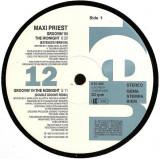 Maxi Priest - Groovin' In The Midnight 1992 disc vinil Maxi Single Reggae-Pop