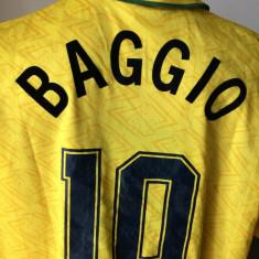 Tricou fotbal UMBRO BAGGIO Brazilia campioana mondiala - Set echipament fotbal Umbro, Marime: XL