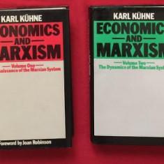 Karl Kuhne ECONOMICS AND MARXISM 2 volume