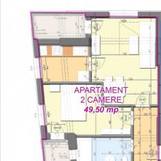 Apartament 2 camere, 49m, 53.500e, Bloc Nou - Apartament de vanzare, Numar camere: 2, An constructie: 2016, Etajul 5