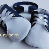 Set botez papucei si papion - Trusou botez