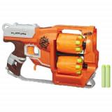 Blaster Nerf Flipfury Zombie - Pistol de jucarie Hasbro