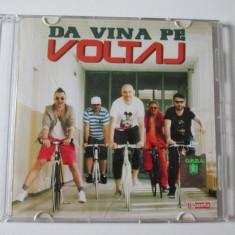 Cd Voltaj,albumul:Da vina pe Voltaj cu autografele membrilor trupei-Cat Music'12
