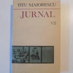 JURNAL de TITU MAIORESCU VOL.VII 1987 - Roman